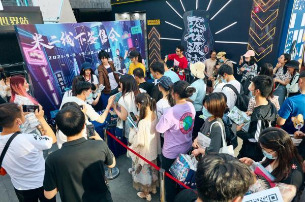 《一人之下》联动杭州湖滨银泰in77 落地首个国漫主题大型商业展陈