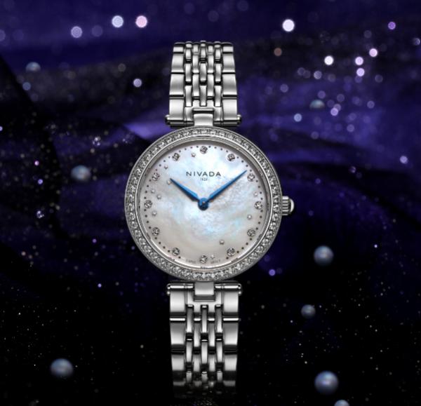 尼维达星空女装石英腕表,满天浪漫给你闪耀未来