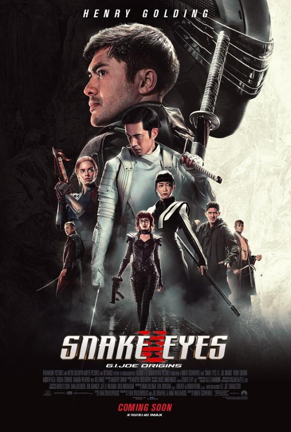 《特种部队:蛇眼起源》发布首支预告