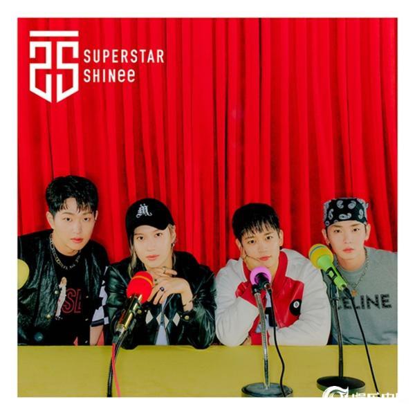 SHINee日本新迷你专辑《SUPERSTAR》将于6月28日公开