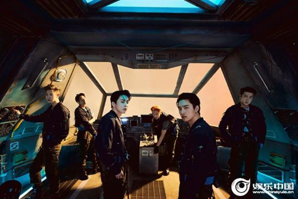 EXO特别专辑荣登United World Chart一位印证名不虚传的实力