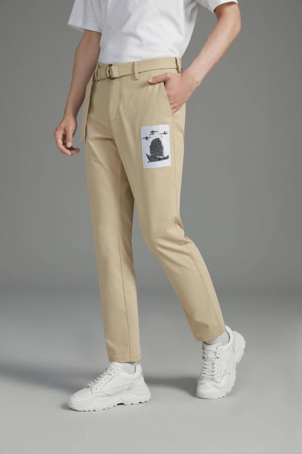 火爆巴黎时装周的九牧王男裤 预售开启一裤难求!