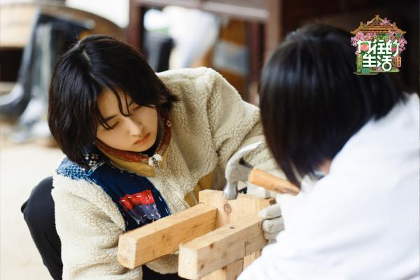 《向往的生活》第五季张子枫吉他弹唱 李雪琴东北话太洗脑