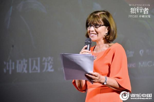 奥斯卡提名动画《狼行者》上海首映 制片人爆料幕后创作故事