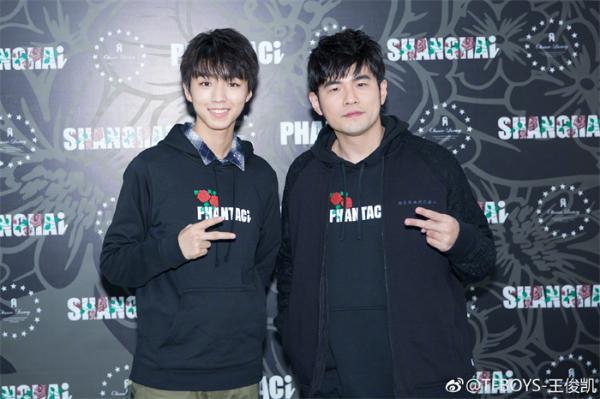 王俊凯出演电影《叱咤风云》 与周杰伦合作梦想成真