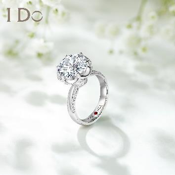 I Do克拉定制戒指打造王彦霖和艾佳妮专属爱情信物