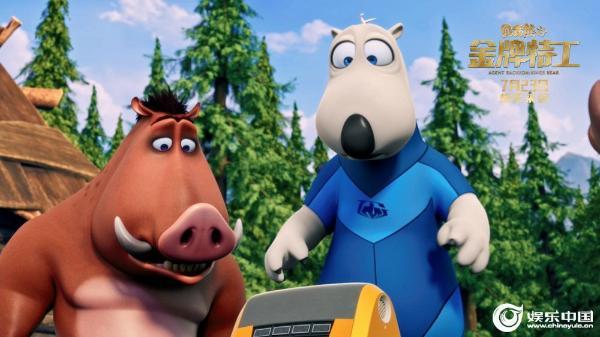 《贝肯熊2:金牌特工》今日上映最萌应援天团来打Call