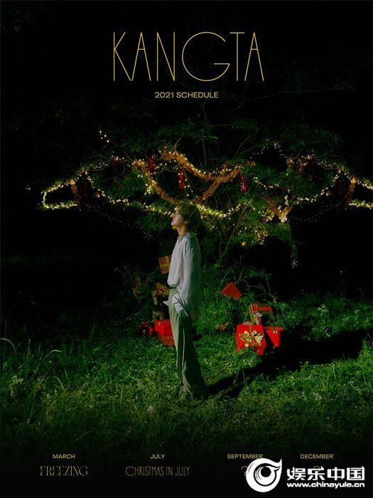 安七炫出道25周年项目第二张单曲《七月里的圣诞》将于7月28日公开预告安七炫独有的夏天感性