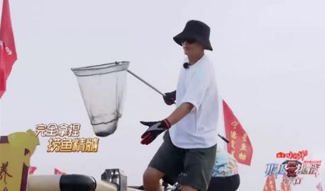 东鹏特饮《极挑宝藏行2》赶海霞浦 黄明昊获最佳水球门将