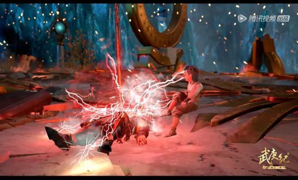 武庚纪第四季:武庚到达结晶山战斗升级,命运之子挑战众神之主,剧情高燃!