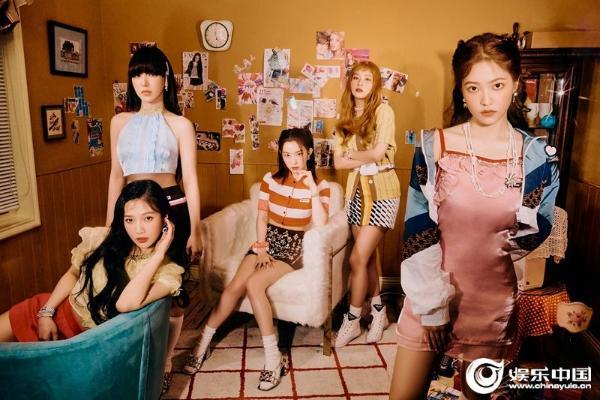 不愧是夏日女王Red Velvet新迷你專輯《Queendom》獲唱片周榜一位