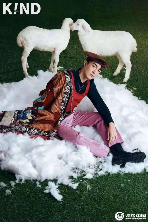 林更新登《K!ND》九月刊 牧羊人大片獨具創意