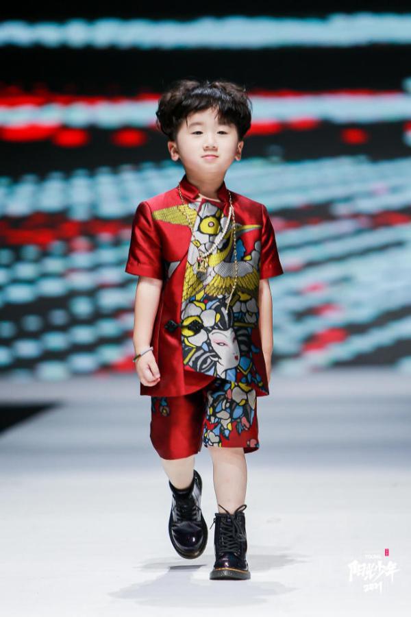阳光少年模特风采秀圆满落幕 中国元素成主角