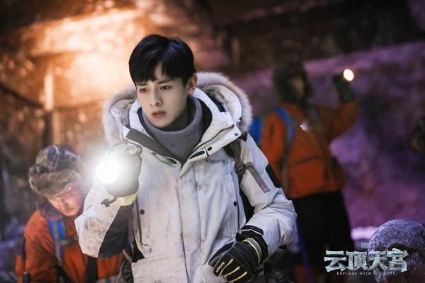 《云顶天宫》收官,演员白澍结束探险,开启冰球之旅