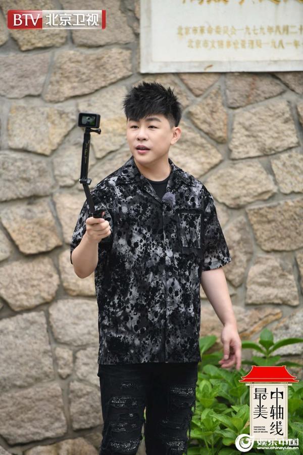 胡彦斌蔡国庆符龙飞永定门路演《最美中轴线》传唱英雄故事