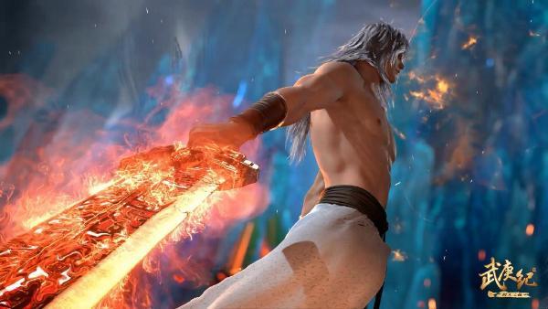 人气国漫《武庚纪》正在热播,最强炼气术修炼者子羽剑指众神之主