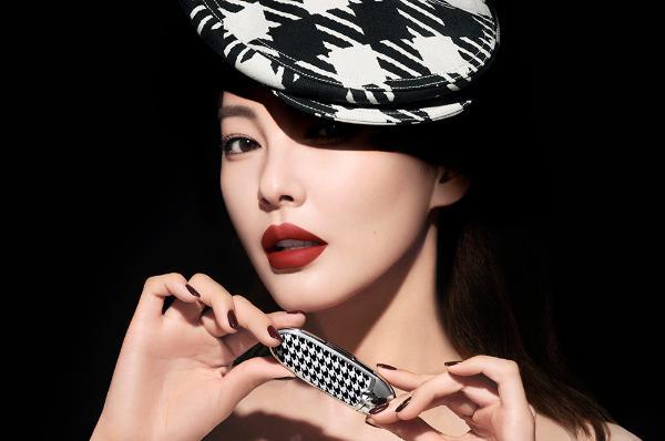 型色由我正当红 法国娇兰宣布张雨绮担任品牌彩妆大使