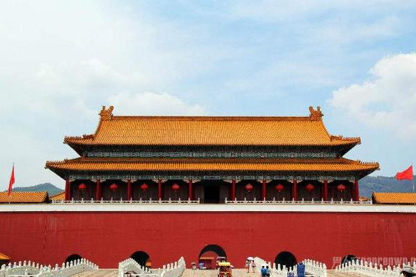 最理直气壮的山寨建筑 是中国传统艺术延续