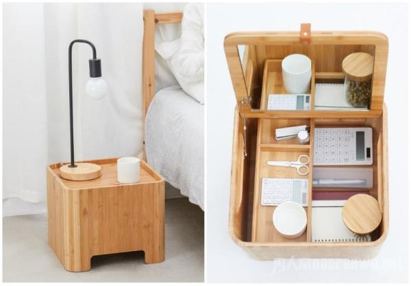 美观又实用的收纳凳子 小身材大用途堪称家居神器