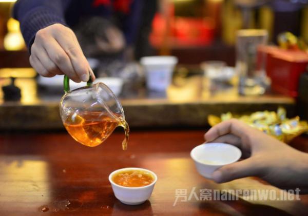 古代人喝茶素材