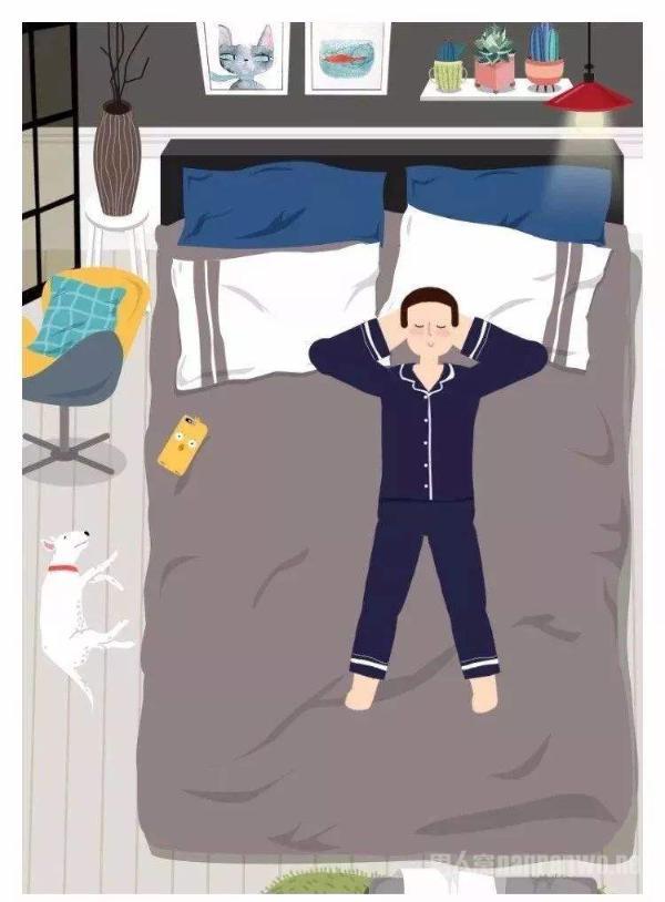 男性睡眠障碍怎么治疗?三招教你一觉到天明