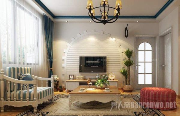 永不过时的家装风格之美式风格 壁炉是不可缺少的元素