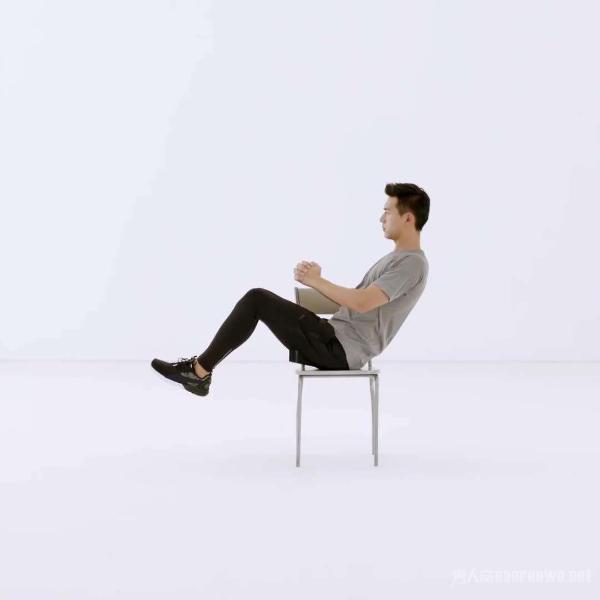 盘腿式仰卧起坐