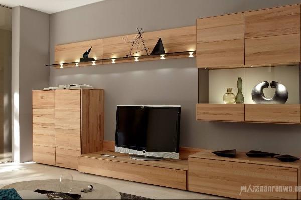 电视柜背景墙组合柜 用网红款家具为生活加点野