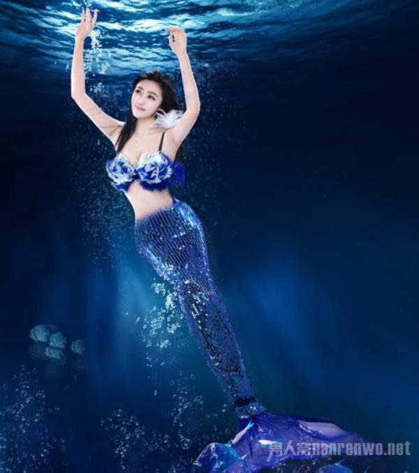 人体摄影艺术 当美女与美人鱼碰撞 产出神奇的艺术火花