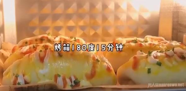 家庭自制面包简单做法 松松软软的真的敲好吃