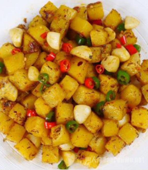 只用土豆做的简单美食 只需要1分钟就能做好