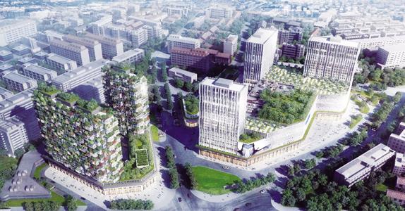 建立首个垂直森林 居然之家创新商业综合体