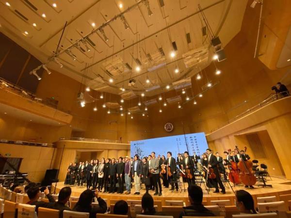 中国音乐学院举办抗疫主题作品音乐会