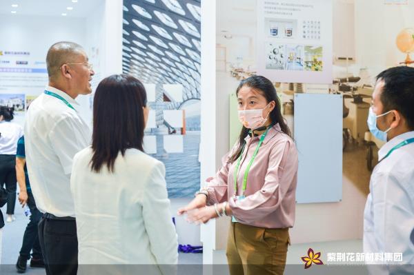 助力中国建筑绿色梦想,紫荆花亮相国家会展中心(天津)开馆首展