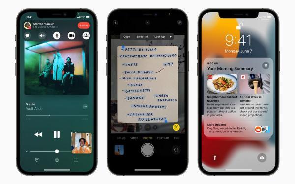 苹果iOS 15十大重点功能:FaceTime可用于Android还新增人像模式!信息信息通知定时静音
