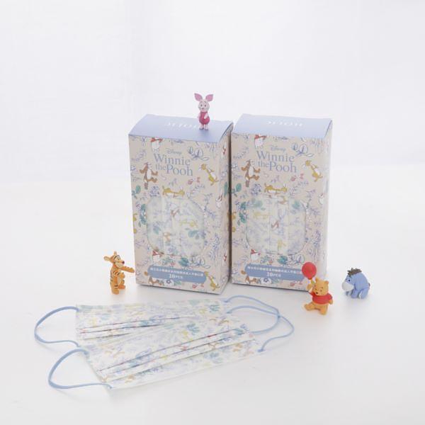 Grace Gift 超治愈小插画维尼口罩彷佛走进童话秘境花园!仙境蓝太美了!