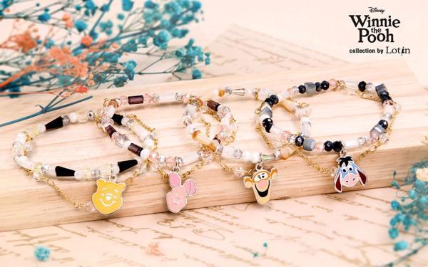 维尼控集体失控!Lotin小熊维尼联名饰品太可爱! 小项链、蜂蜜戒指…