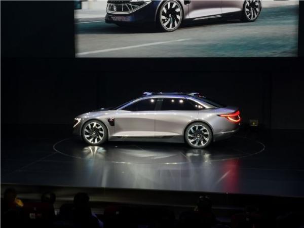 豪华中型轿车 拜腾K-Byte Concept概念车全球首秀