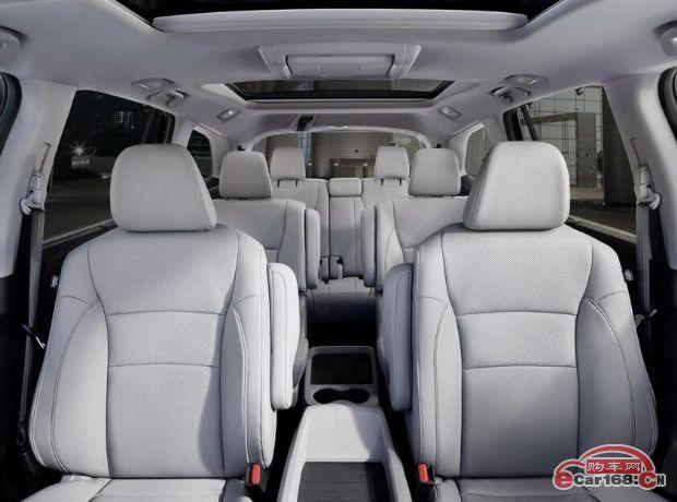 7座SUV/内饰升级 新款本田Pilot车型官图发布
