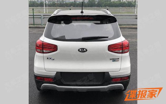 起亚KX3电动版本申报图 最高车速150km/h