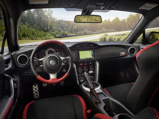 丰田发布86 TRD特别版车型官图 限1418辆