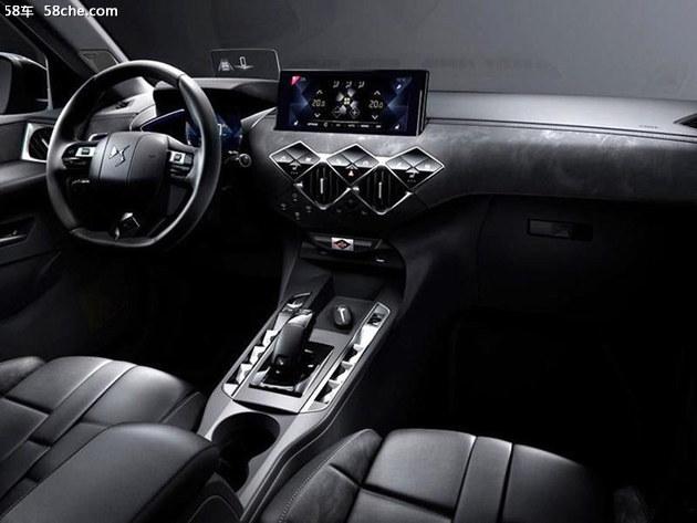 DS 3 Crossback官图发布 巴黎车展亮相