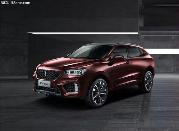 WEY VV5升级款车型正式上市 售16.30万元