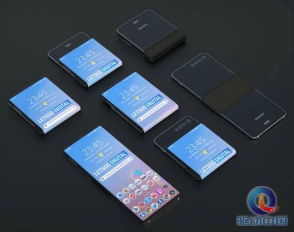 三星新折叠屏手机专利曝光,上下
