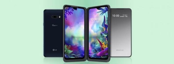 LG推出第2款可折叠设备 带有双屏幕配件的G8X ThinQ智能手机