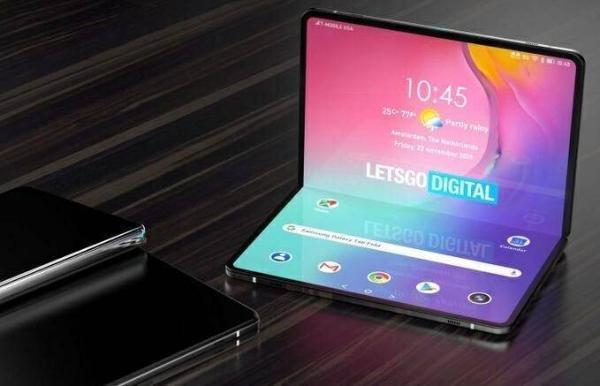 三星折叠平板专利曝光,类似于小型笔记本电脑