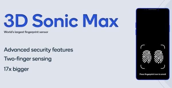 高通发布最新指纹传感器3D Sonic Max,识别区域扩大17倍