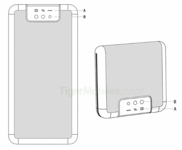 小米折叠屏手机专利曝光!垂直折叠+弹出式摄像头