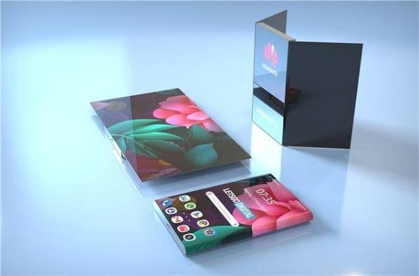 """手机中的""""变形金刚""""?华为新款折叠屏手机专利图曝光"""