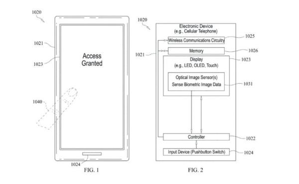 来了!苹果屏下指纹Touch ID专利通过认证,新iPhone有望搭载